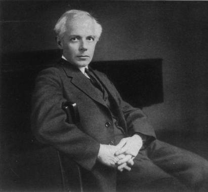 Bela Bartok 1927, photo Wikipedia