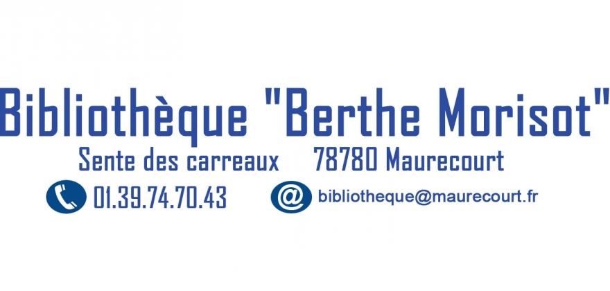 Logo de la bibliothèque Berthe Morisot de Maurecourt