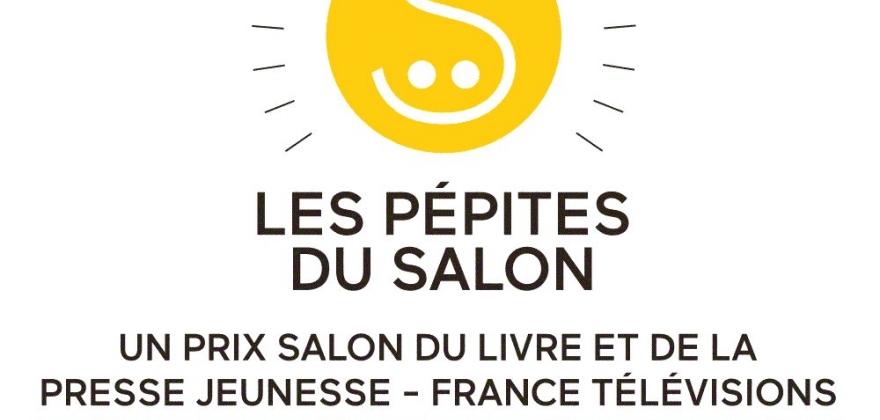 Logo-pépites du salon du livre et de la presse jeunesse
