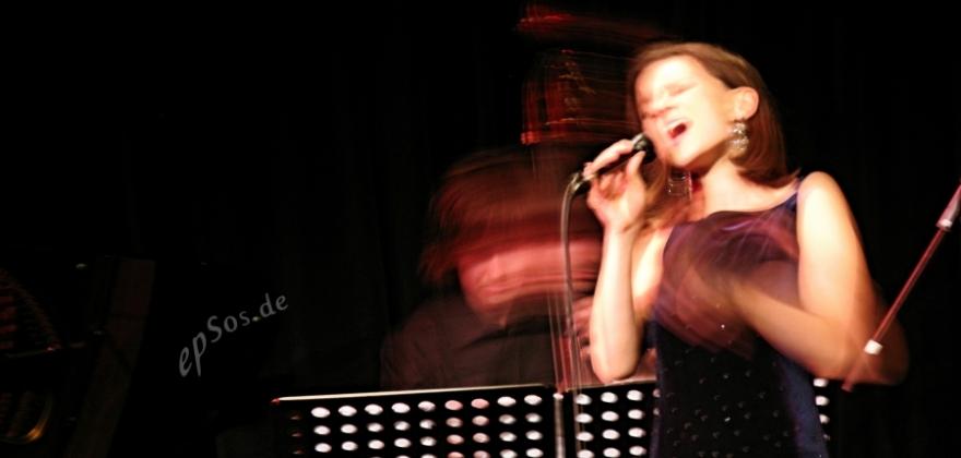 Chanteuse de jazz live