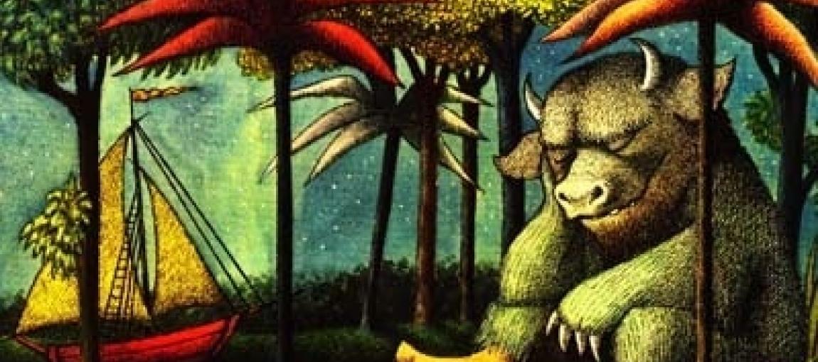 """Couverture de l'album """"Max et les maximonstres"""" de Maurice Sendak"""