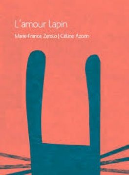 """Jaquette """"l'amour lapin"""""""
