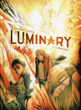 """Jaquette """"Luminary, tome1, canicule"""""""