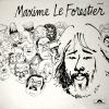 """Pochette du LP """"Saltimbanque"""" de Maxime Le Forestier"""