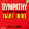 Pochette du 45T Sympathy du groupe Rare Bird.