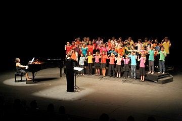 © David Blondin / Photo d'une chorale d'enfants