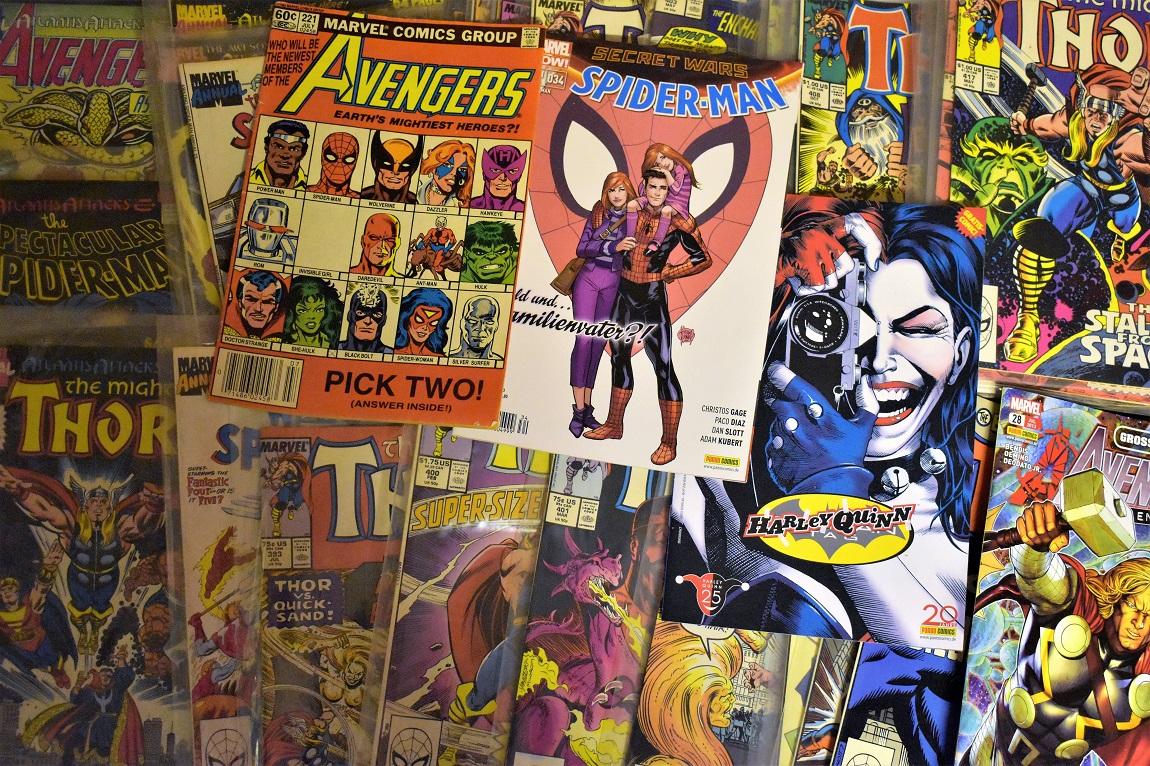 sélection de comics