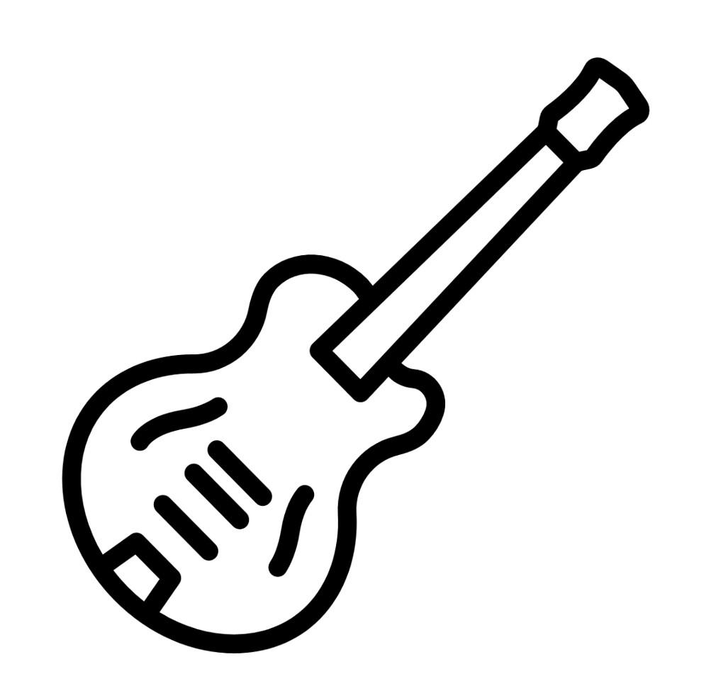 flaticon - en mode Guitar Hero